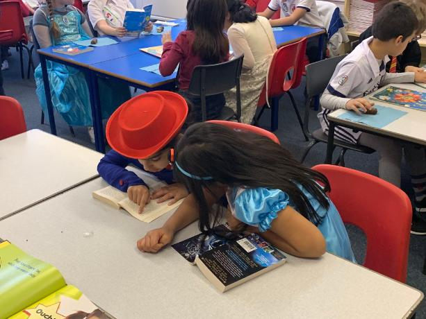 world book day paired reading 2019 1